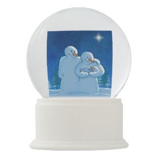 Newborn Snow Globe