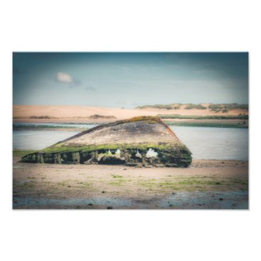Beach Themed Newburgh Seal Beach Photo Print