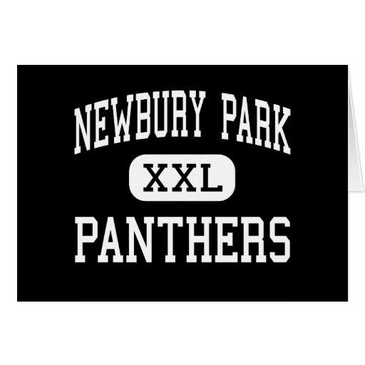 Newbury Park - Panthers - High - Newbury Park Greeting Card
