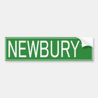 NEWBURY ST BUMPER STICKER