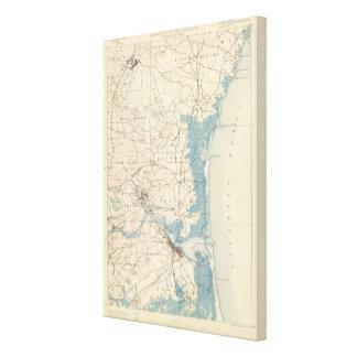 Newburyport, Massachusetts Stretched Canvas Prints