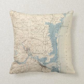 Newburyport, Massachusetts Throw Pillow