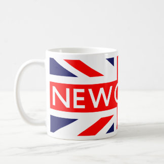 Newcastle : British Flag Coffee Mug