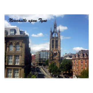 newcastle cathedral postcard