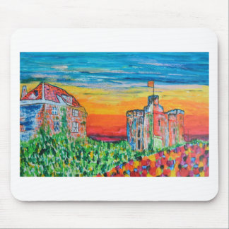 Newcastle keep and gate house mouse pad