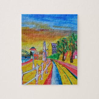 Newcastle quayside jigsaw puzzle