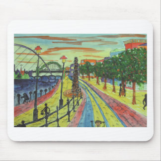 Newcastle Quayside View Mouse Pad