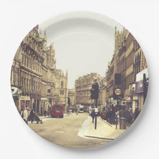 Newcastle sobre tyne platos de papel