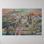 Newcastle upon Tyne, England Poster