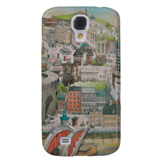 Newcastle upon Tyne through the Years iphone 3 Samsung Galaxy S4 Case