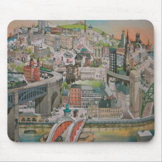 Newcastle upon Tyne through the Years Mousepad