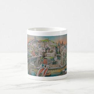 Newcastle upon Tyne through the Years  Mug