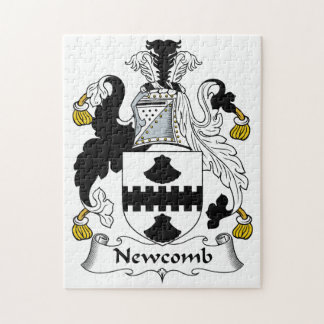 Newcomb Family Crest Jigsaw Puzzles