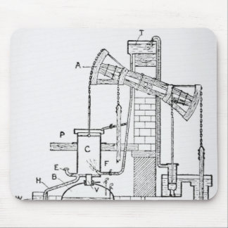 Newcomen's Atmospheric Engine Mouse Pad