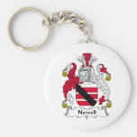 Newell Family Crest Key Chains