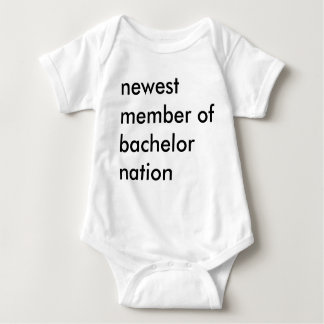 Newest Member of Bachelor Nation Baby Bodysuit