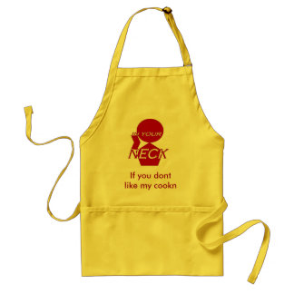 newest neck red inver, If you dont like my cookn Adult Apron