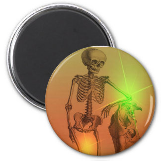 Newf 2 Inch Round Magnet