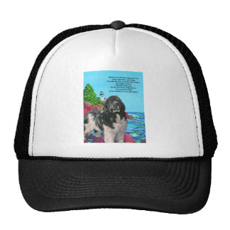 NEWF AND LIGHTHOUSE HAT