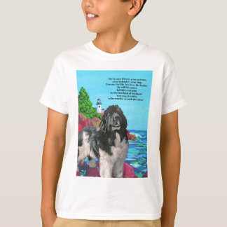NEWF AND LIGHTHOUSE T-Shirt