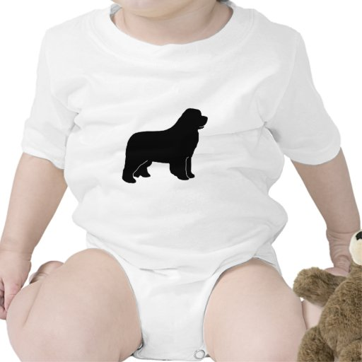 Newf newfy del perro de Terranova Camiseta