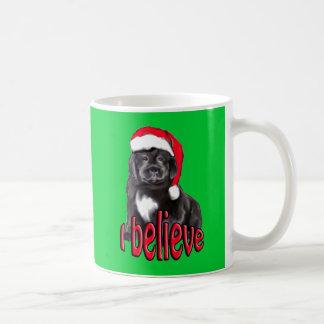 Newf puppy Christmas Coffee Mug