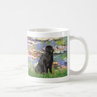 Newfie 1 - Lilies 2 Coffee Mug