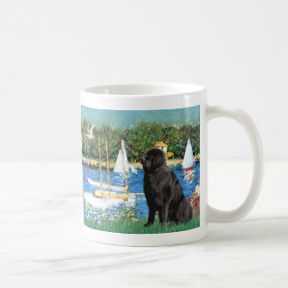 Newfie 1 - Sailboats Coffee Mug