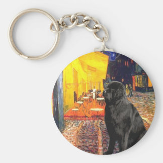 Newfie 1 - Terrace Cafe Keychain