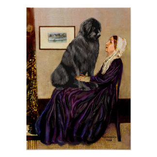 Newfie 1 - Whistlers Mother Poster