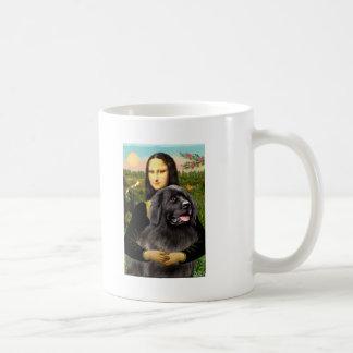 Newfie 2 - Mona Lisa Coffee Mug