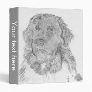 Newfie 3 Ring Binder