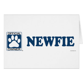 Newfie Blue Card