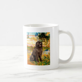 Newfie (brown) - Garden (VG) Coffee Mug