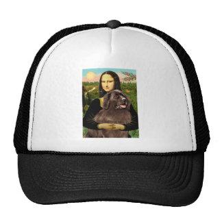 Newfie (brown) - Mona Lisa Mesh Hat