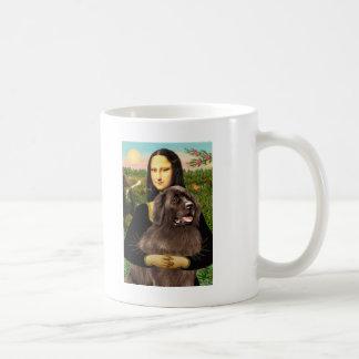 Newfie (brown) - Mona Lisa Mugs