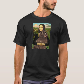 Newfie (brown) - Mona Lisa T-Shirt