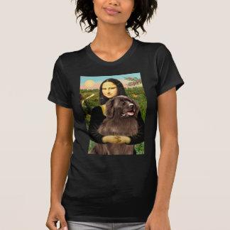 Newfie (brown) - Mona Lisa T Shirt