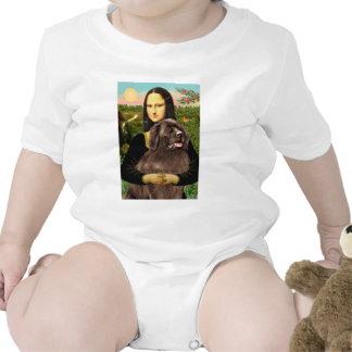 Newfie (brown) - Mona Lisa T Shirts
