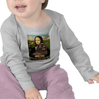 Newfie (brown) - Mona Lisa Shirt
