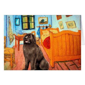 Newfie (brown) - Room at Arles Card