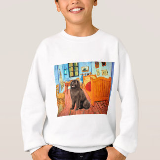 Newfie (brown) - Room at Arles Sweatshirt
