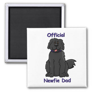 Newfie Dad 2 Inch Square Magnet