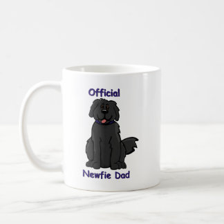 Newfie Dad Classic White Coffee Mug