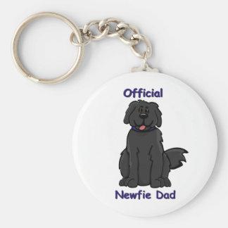 Newfie Dad Key Chain