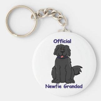 newfie grandad keychain