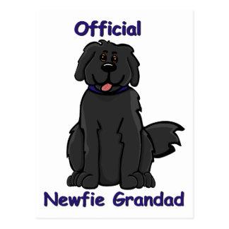 newfie grandad postcard
