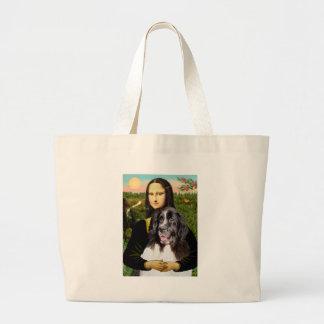 Newfie (Landseer3) - Mona Lisa Tote Bags
