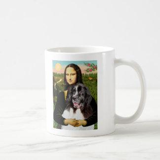 Newfie (Landseer3) - Mona Lisa Coffee Mugs