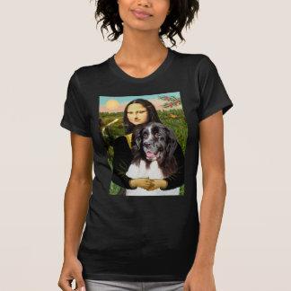 Newfie (Landseer3) - Mona Lisa Playera